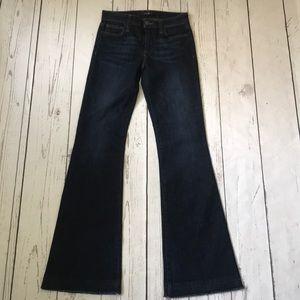 Joe's Jeans released hem flare jeans nwot  24 tall